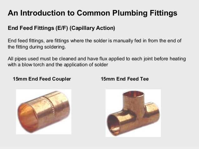 Plumbing Fittings Presentation