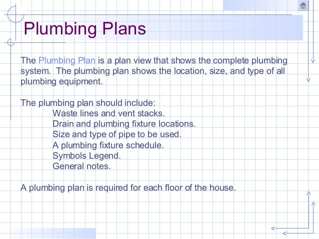 Plumbing Important