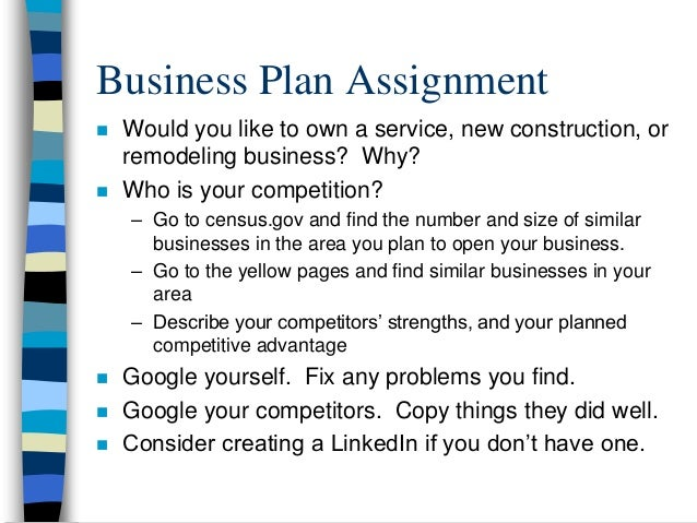 business plan for plumbing business