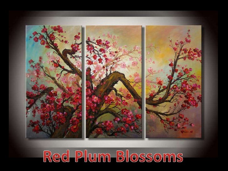 Red Plum Blossoms<br />