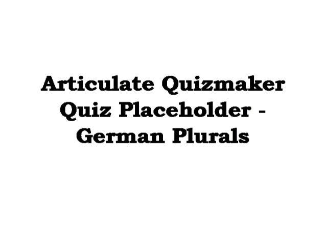 German Grammer Plural ( Traum Academy Kadavanthra) 9745539266