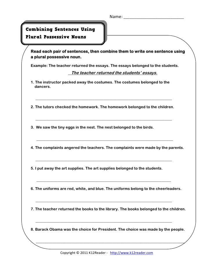 Quiz & Worksheet - Possessive Pronouns & Contractions | Study.com