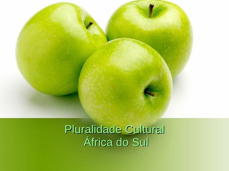 Pluralidade Cultural   África do Sul