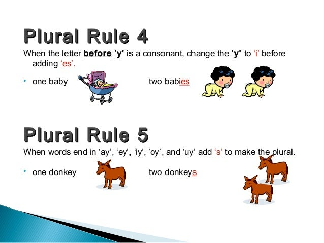 5 letter words ending in ay plural 26097 | plural rules 5 638