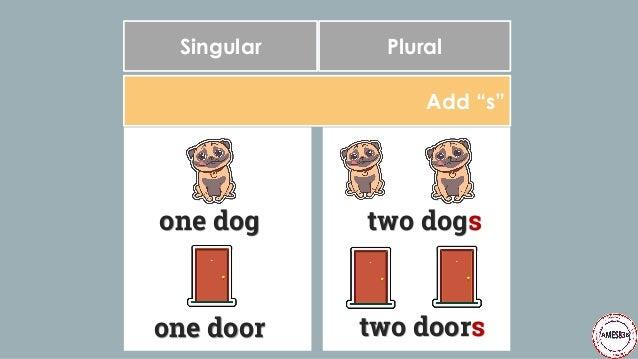 Plural Nouns: English Language Slide 3