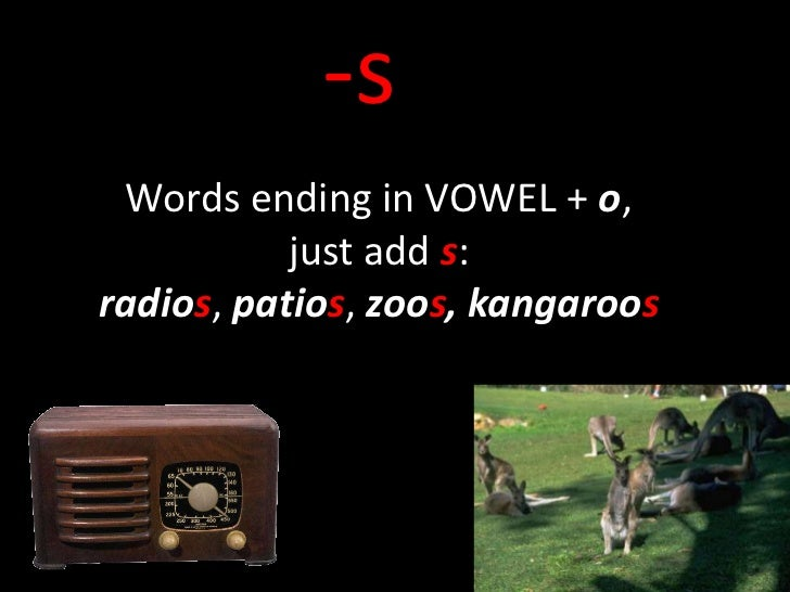 7 letter words ending with o plurals of words ending in o 15410