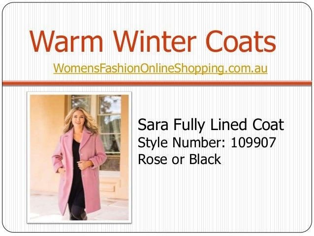 Plus Size Womens Winter Coats Online Shopping Aust