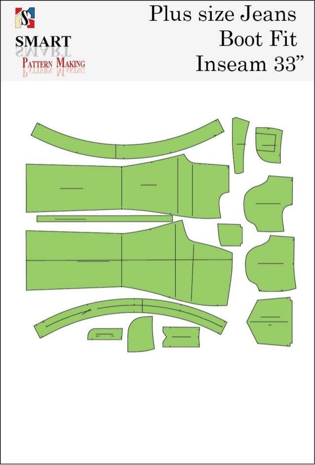 Plus size big mama jeans sewing patterns