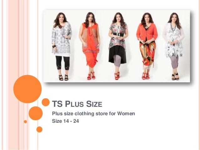 TS PLUS SIZEPlus size clothing store for WomenSize 14 - 24