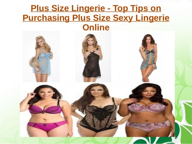 Plus size lingerie tips on buying plus size sexy lingerie ...