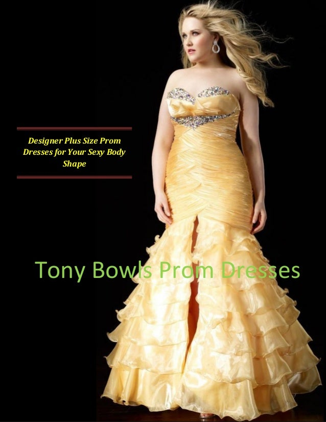 Pretty plus size prom dresses