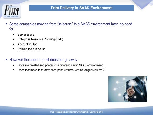 Print Value-Add for SAAS Environments Slide 2