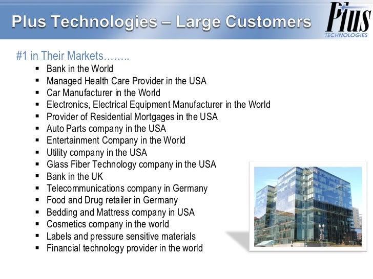 <ul><li>#1 in Their Markets…….. </li></ul><ul><ul><li>Bank in the World </li></ul></ul><ul><ul><li>Managed Health Care Pro...