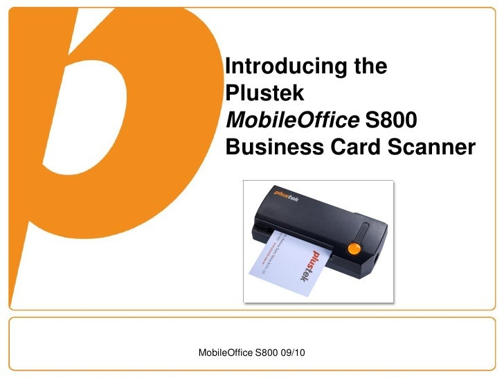 Plustek mobileoffice s800 business card scanner introducing the plustek mobileoffice s800 business card scanner mobileoffice reheart Choice Image