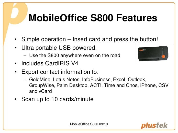 Plustek mobileoffice s800 business card scanner introducing the plustek mobileoffice s800 business card scanner mobileoffice s800 0910 2 reheart Image collections