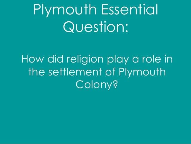 plymouth colony religion