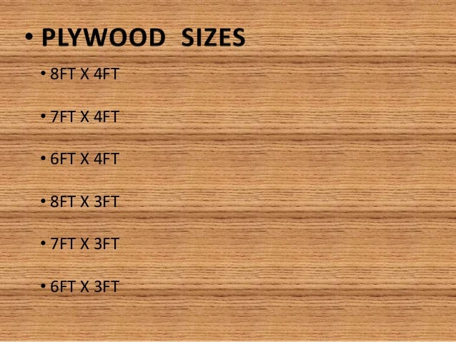Standard Thickness Of Plywood ~ Plywood