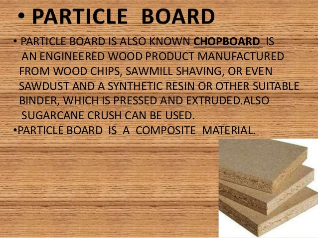 Mobile Home Particleboard ~ Plywood