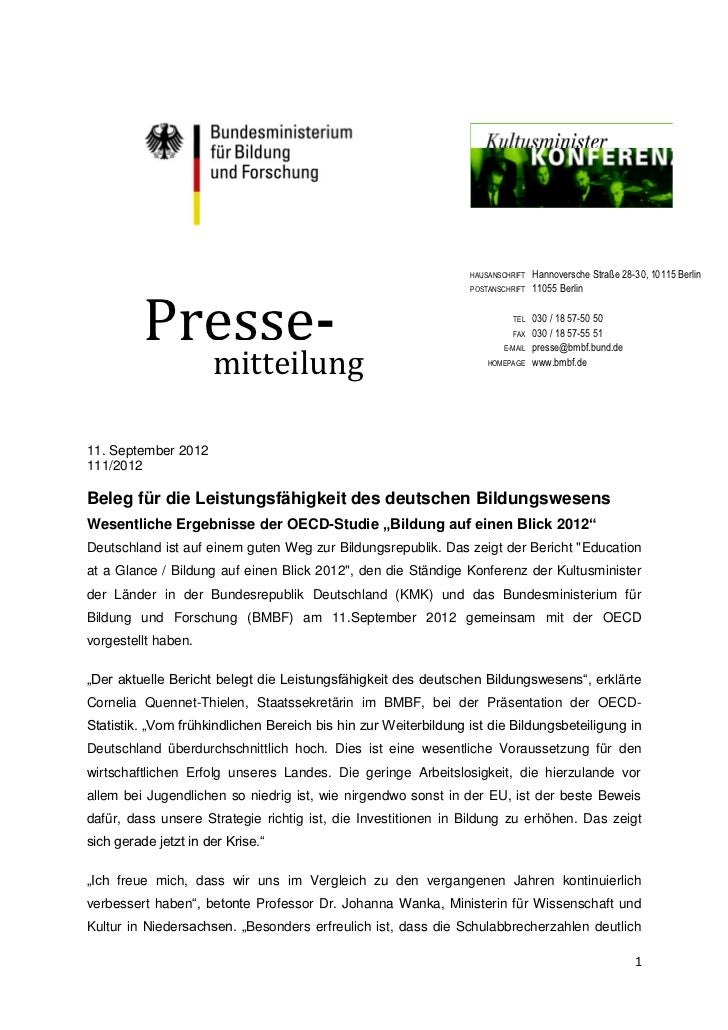 HAUSANSCHRIFT   Hannoversche Straße 28-30, 10115 Berlin          Presse-                                                  ...