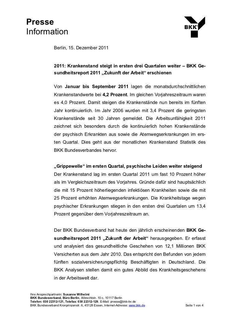 Presse                                                                                   ®Information                 Berl...