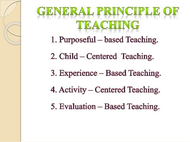 principle & maximum of teaching Slide 3