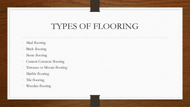 Types of flooring materials ppt gurus floor for Best types of carpet