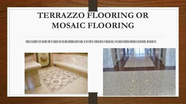Best Ppt On Flooring And Its Types