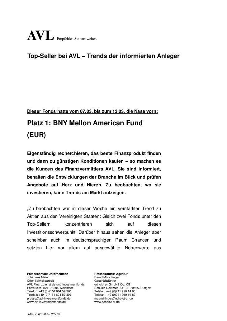 AVL                  Empfehlen Sie uns weiter.Top-Seller bei AVL – Trends der informierten AnlegerDieser Fonds hatte vom 0...