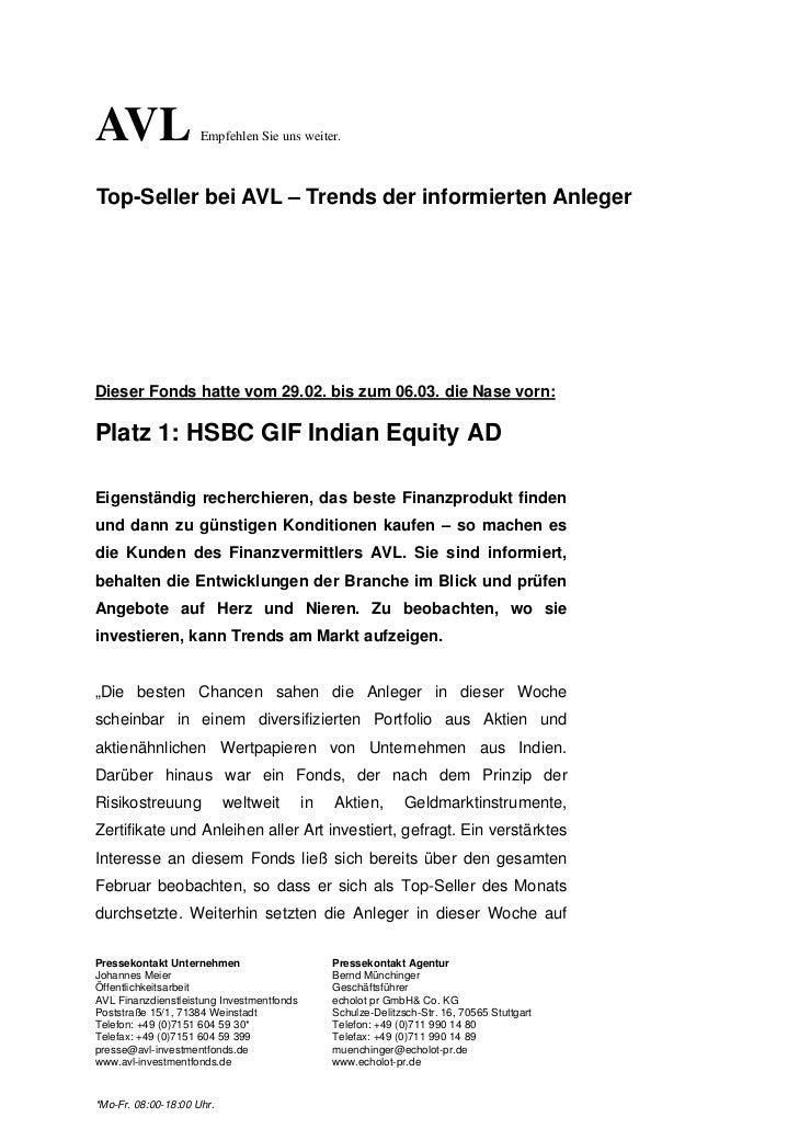 AVL                  Empfehlen Sie uns weiter.Top-Seller bei AVL – Trends der informierten AnlegerDieser Fonds hatte vom 2...