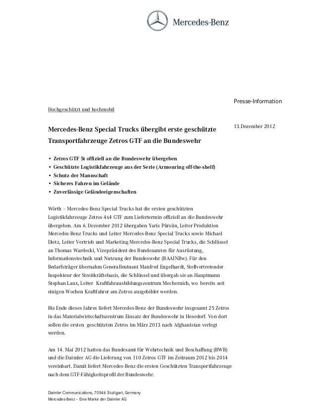 Presse-InformationHochgeschützt und hochmobil                                                                             ...
