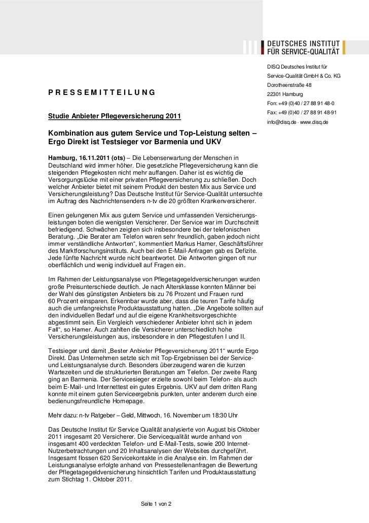 DISQ Deutsches Institut für                                                                                Service-Qualitä...