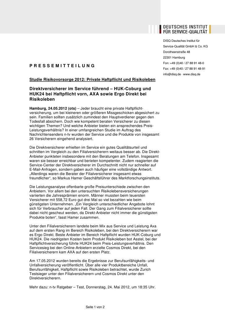 DISQ Deutsches Institut für                                                                                  Service-Quali...