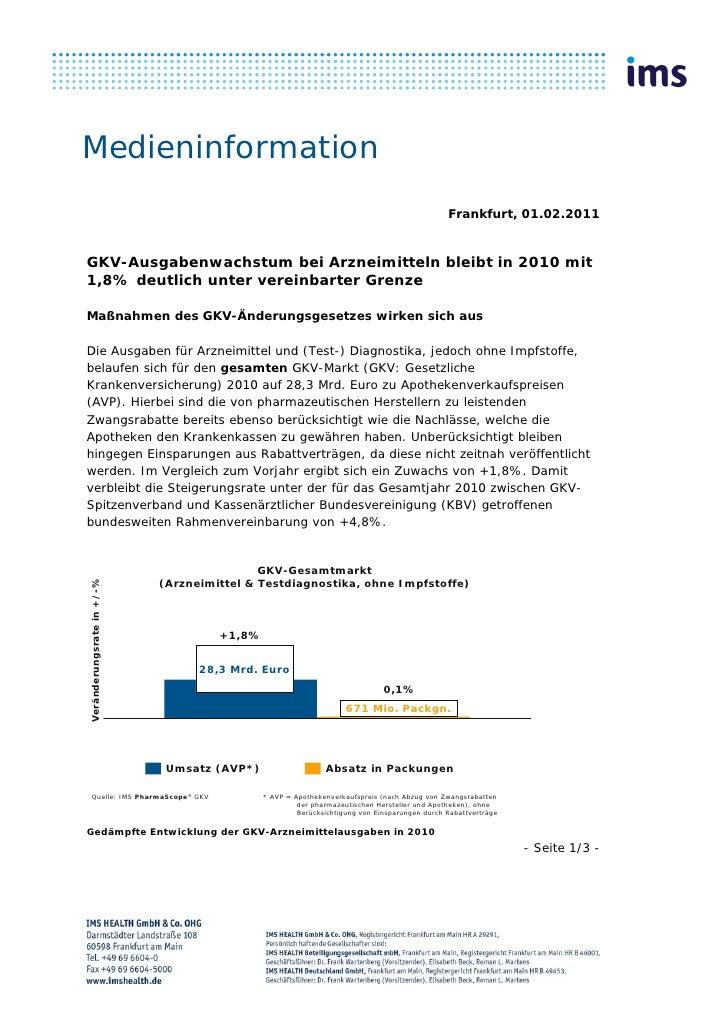 Medieninformation                                                                                             Frankfurt, 0...
