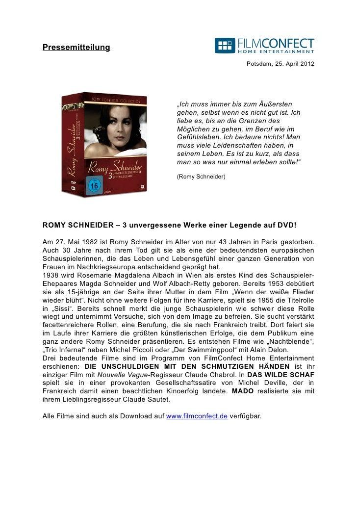 Pressemitteilung                                                                   Potsdam, 25. April 2012                ...