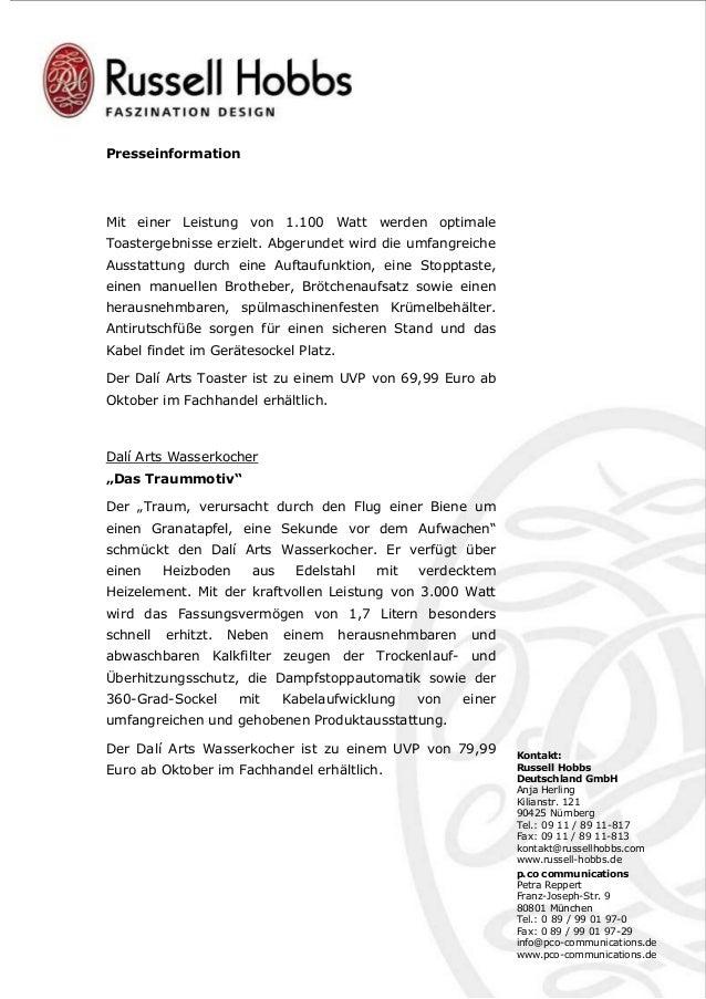 PM_Russell Hobbs Dali Arts.pdf Slide 3