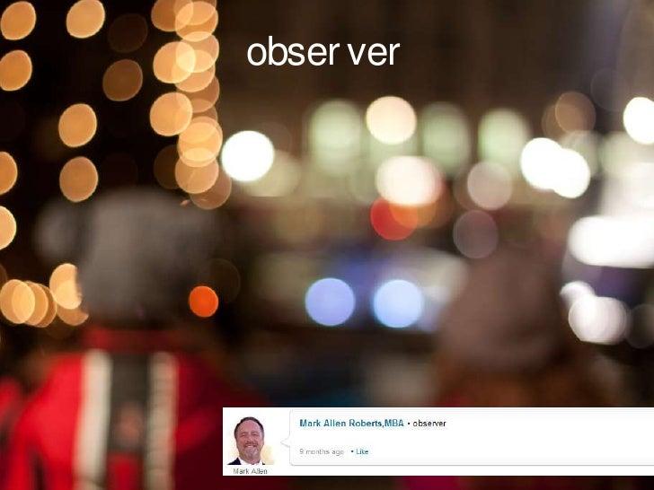 observer<br />