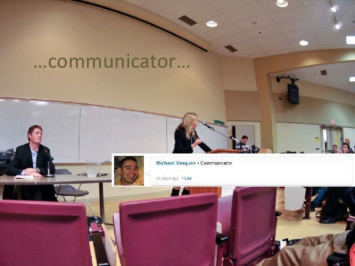 …communicator…<br />