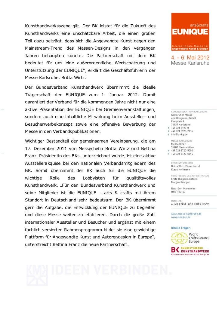 PM03 - EUNIQUE 2012 kooperiert mit BK.pdf Slide 2