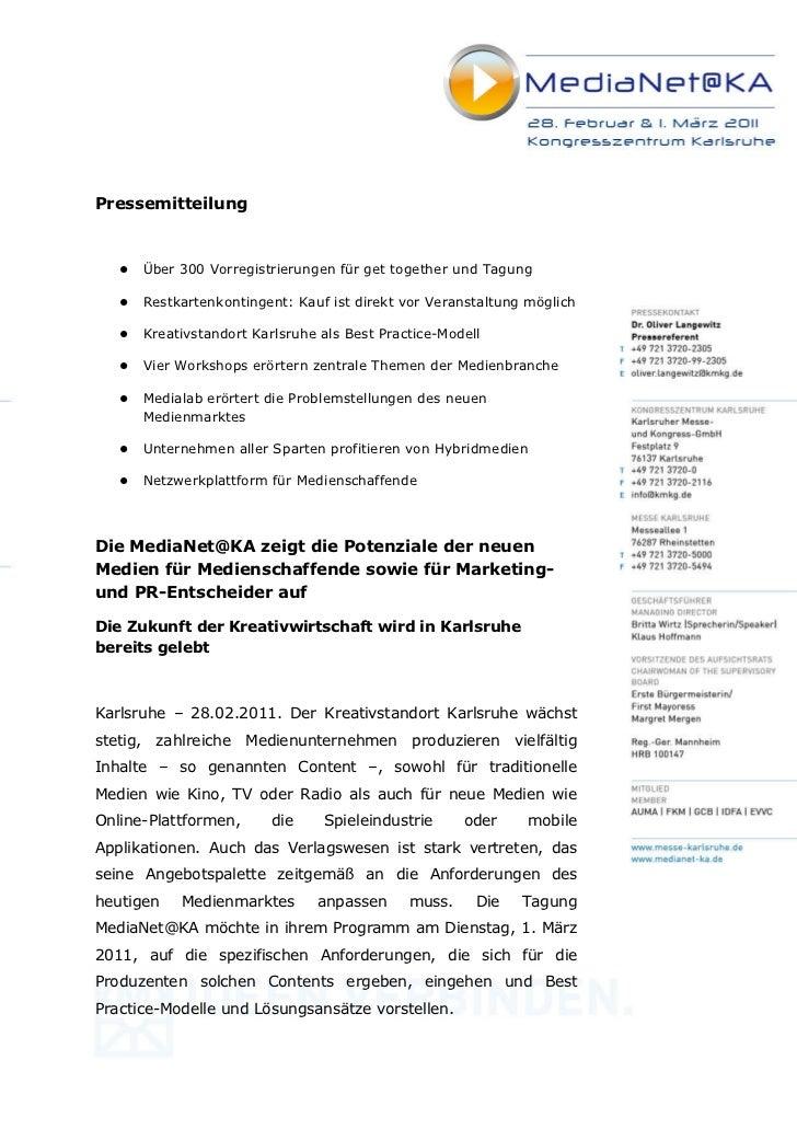Pressemitteilung      Über 300 Vorregistrierungen für get together und Tagung      Restkartenkontingent: Kauf ist direkt v...