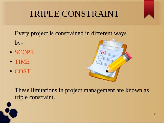 Understanding the Project Management Triple Constraint