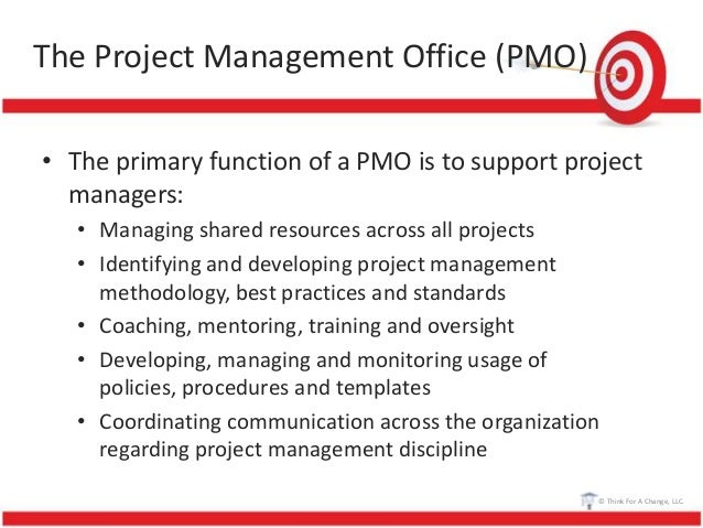 Project management foundations course 101 project - Project management office mission statement ...