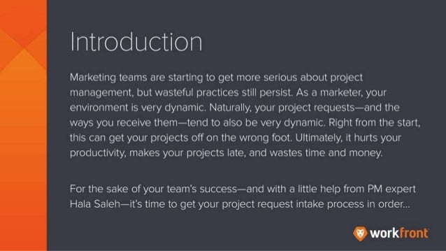 Introduction Marketing teams are starting to get more serious about project management, bu twasteful practices still persi...