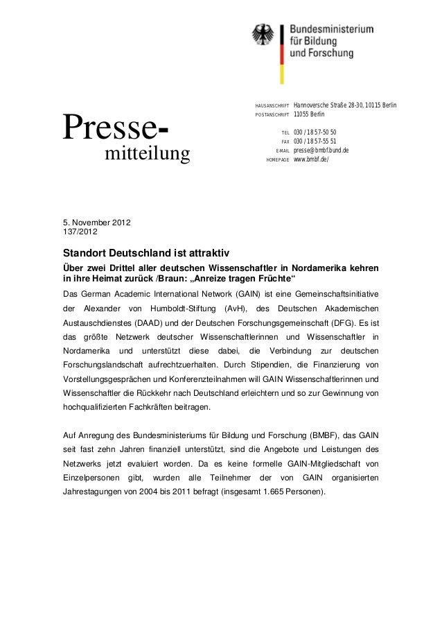 HAUSANSCHRIFT    Hannoversche Straße 28-30, 10115 Berlin                                                           POSTANS...