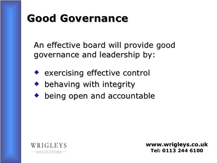 governance and effecting change in schools School leaders: changing roles and impact on teacher and school effectiveness  approaches to school governance and.