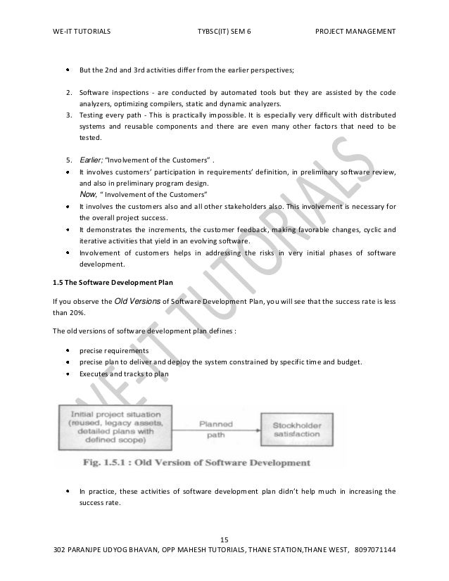 Tybsc it sem 6 project management notes 17 fandeluxe Image collections