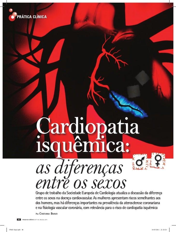 Prática Clínica                                    Cardiopatia                                    isquêmica:              ...
