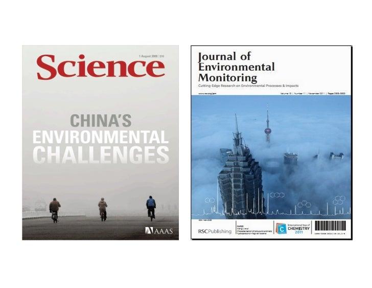 Introduc)on in PM2.5 measurements in                  Urban China     (中国城市空气颗粒物PM2.5监测简介)              ...