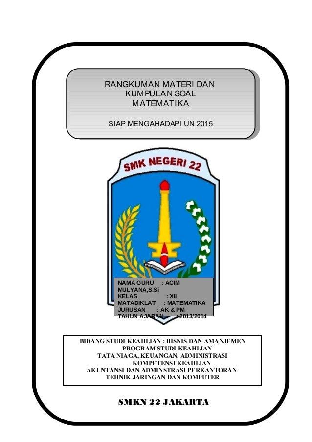 PM Akuntansi dan Pemasaran 2014-2015