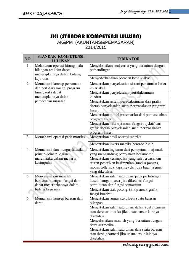 PM Akuntansi dan Pemasaran 2014-2015 Slide 2