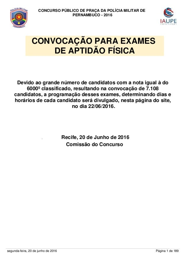 f481c1baae LISTA DOS APROVADOS NO CONCURSO DA POLÍCIA MILITAR DE PERNAMBUCO